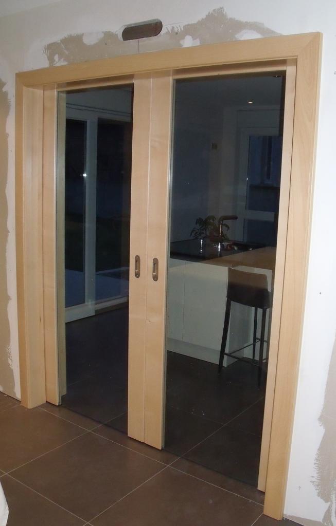 Double porte vitrée