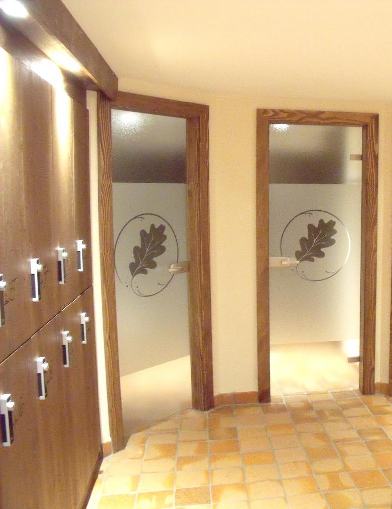 Spa - Porte de douche en verre